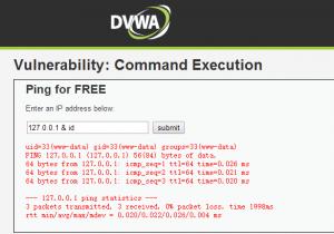 dvwa-Command Execution